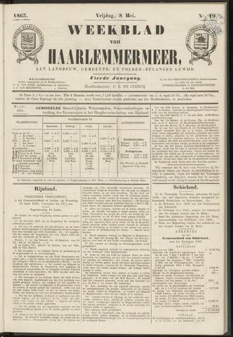Weekblad van Haarlemmermeer 1863-05-08