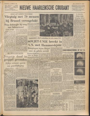 Nieuwe Haarlemsche Courant 1961-02-15