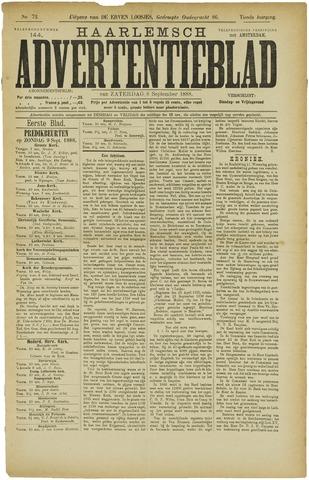 Haarlemsch Advertentieblad 1888-09-08