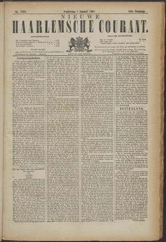 Nieuwe Haarlemsche Courant 1891