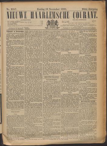 Nieuwe Haarlemsche Courant 1895-11-10