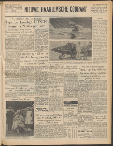 Nieuwe Haarlemsche Courant 1960-08-05