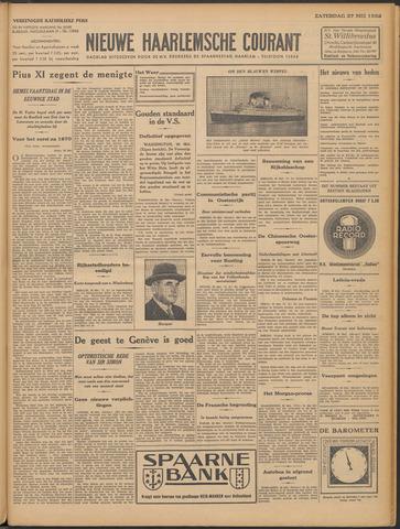 Nieuwe Haarlemsche Courant 1933-05-27