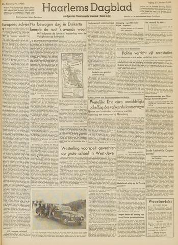 Haarlem's Dagblad 1950-01-27