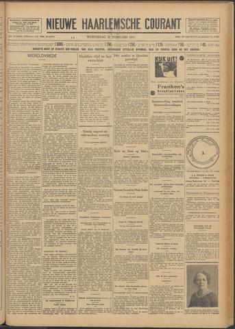 Nieuwe Haarlemsche Courant 1931-02-18