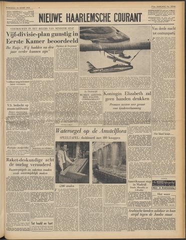 Nieuwe Haarlemsche Courant 1954-03-24