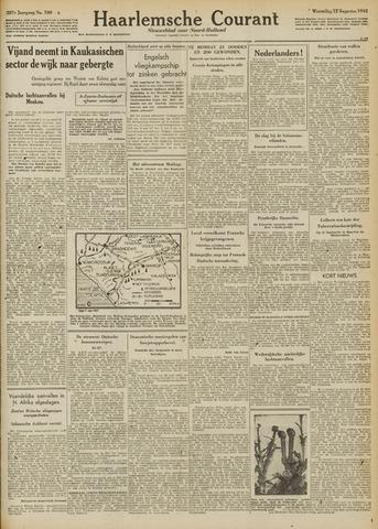 Haarlemsche Courant 1942-08-12