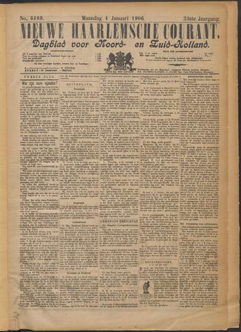 Nieuwe Haarlemsche Courant 1906-01-01