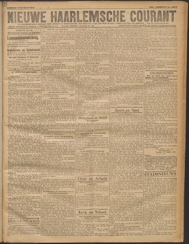 Nieuwe Haarlemsche Courant 1919-10-14