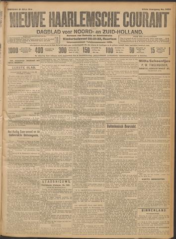 Nieuwe Haarlemsche Courant 1914-07-21