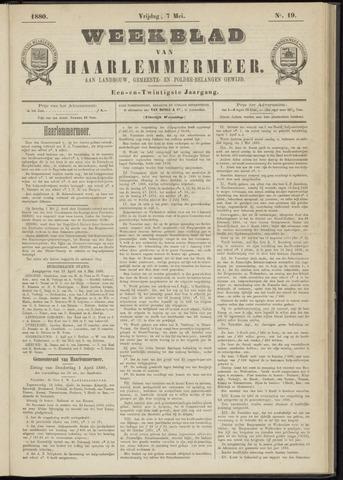 Weekblad van Haarlemmermeer 1880-05-07