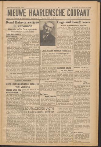 Nieuwe Haarlemsche Courant 1945-08-21