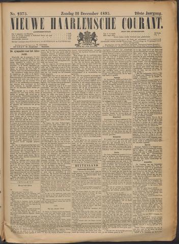 Nieuwe Haarlemsche Courant 1895-12-22