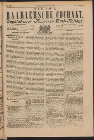 Nieuwe Haarlemsche Courant 1902-09-27