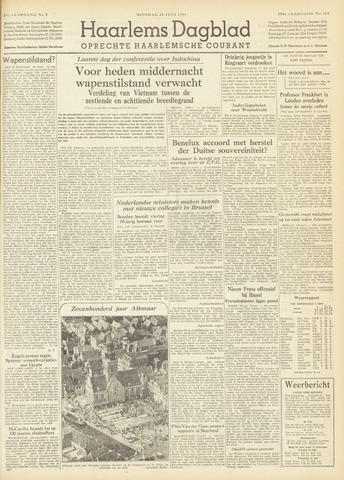 Haarlem's Dagblad 1954-07-20