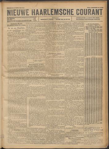 Nieuwe Haarlemsche Courant 1921-02-02