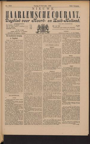 Nieuwe Haarlemsche Courant 1899-11-28