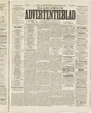 Haarlemsch Advertentieblad 1882-02-25