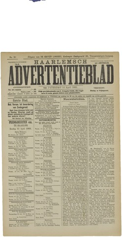 Haarlemsch Advertentieblad 1900-04-14