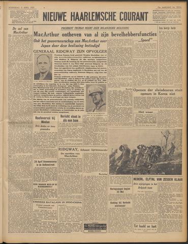 Nieuwe Haarlemsche Courant 1951-04-11