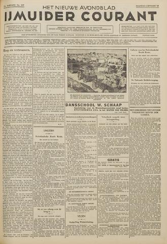 IJmuider Courant 1938-09-05
