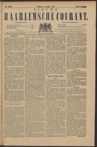 Nieuwe Haarlemsche Courant 1896-01-24