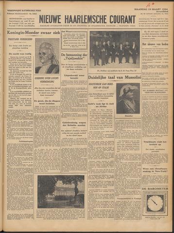 Nieuwe Haarlemsche Courant 1934-03-19