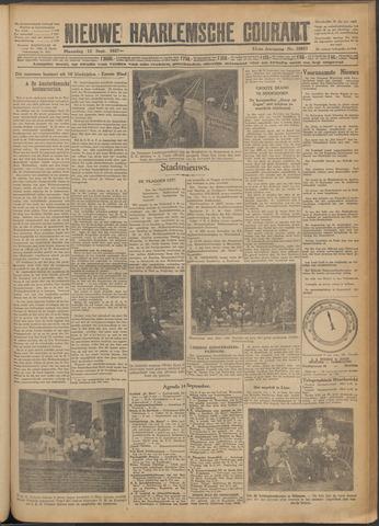 Nieuwe Haarlemsche Courant 1927-09-12