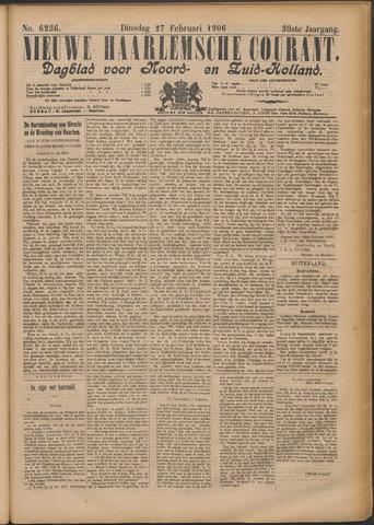 Nieuwe Haarlemsche Courant 1906-02-27