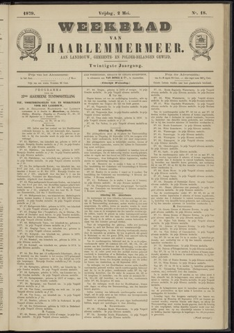 Weekblad van Haarlemmermeer 1879-05-02