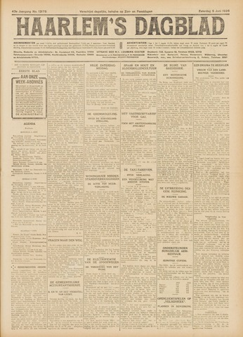 Haarlem's Dagblad 1926-06-05