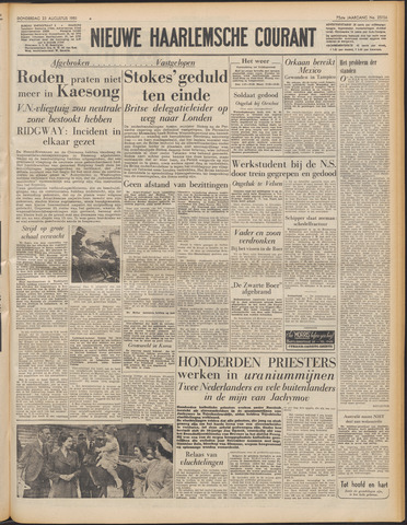 Nieuwe Haarlemsche Courant 1951-08-23