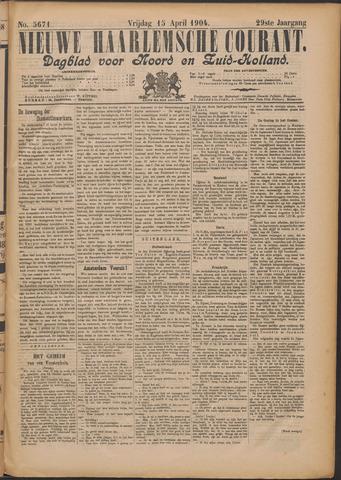 Nieuwe Haarlemsche Courant 1904-04-15