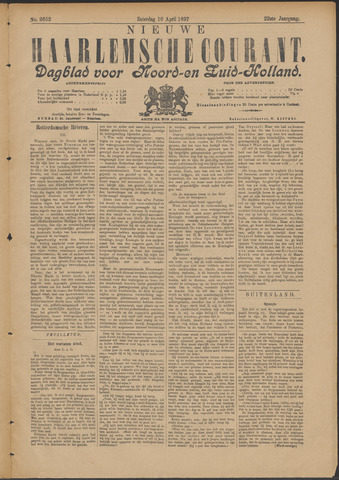Nieuwe Haarlemsche Courant 1897-04-10