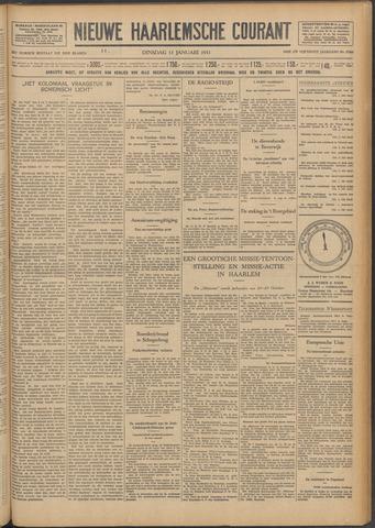 Nieuwe Haarlemsche Courant 1931-01-13