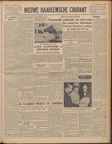 Nieuwe Haarlemsche Courant 1951-01-23
