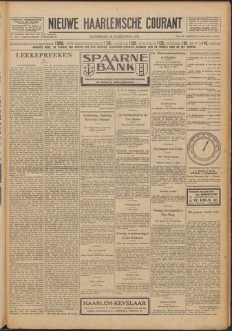 Nieuwe Haarlemsche Courant 1931-08-29