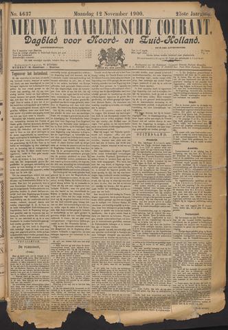 Nieuwe Haarlemsche Courant 1900-11-12