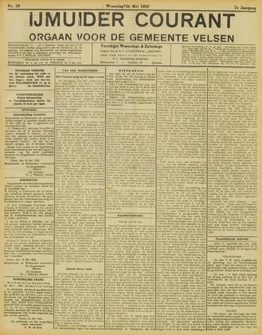 IJmuider Courant 1922-05-24