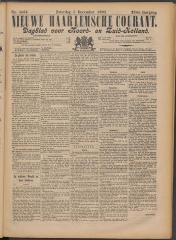 Nieuwe Haarlemsche Courant 1903-12-05