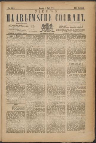 Nieuwe Haarlemsche Courant 1890-04-13
