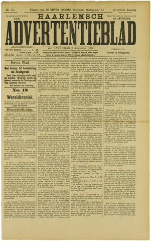 Haarlemsch Advertentieblad 1895-08-03