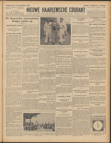 Nieuwe Haarlemsche Courant 1936-08-12