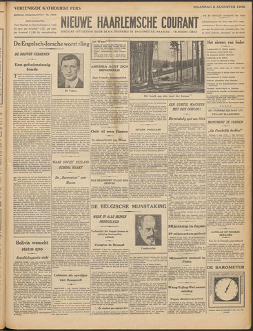 Nieuwe Haarlemsche Courant 1932-08-08