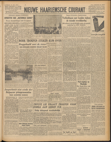 Nieuwe Haarlemsche Courant 1950-07-15