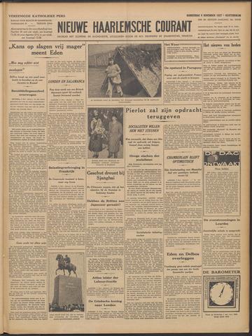 Nieuwe Haarlemsche Courant 1937-11-04