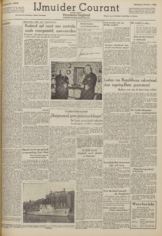 IJmuider Courant 1948-10-02