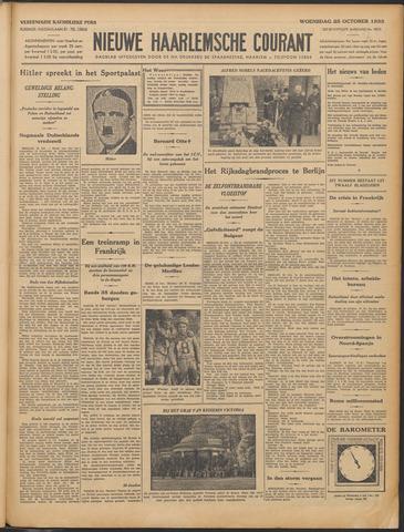 Nieuwe Haarlemsche Courant 1933-10-25