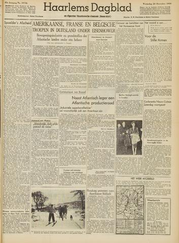 Haarlem's Dagblad 1950-12-20