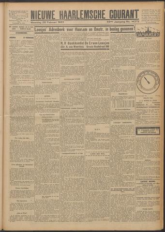 Nieuwe Haarlemsche Courant 1923-02-26